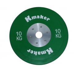 Anilha 10 Kilos Olimpica IWF oficial Size