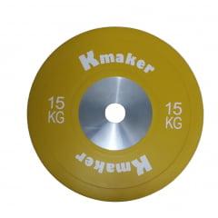 Anilha 15 Kilos Olimpica IWF oficial Size