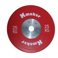 Anilha 25 Kilos Olimpica IWF Oficial Size