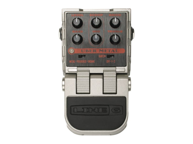 Pedal Distortion para Guitarra Line 6 Uber Metal