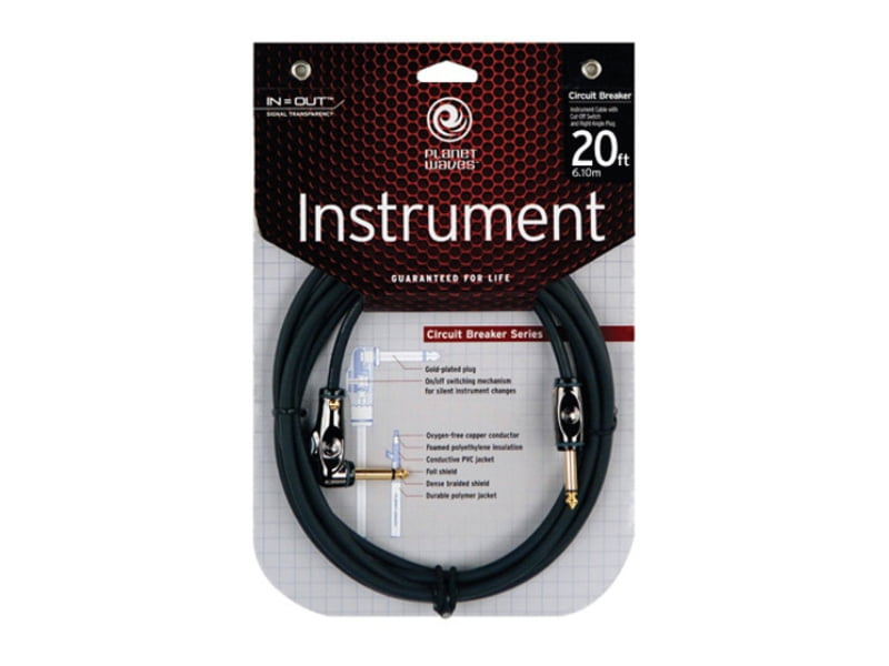 Cabo Planet Waves 6,10m Circuit Breaker em L AGRA-20