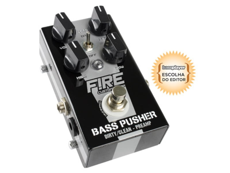 Pedal para Contrabaixo Fire Bass Pusher