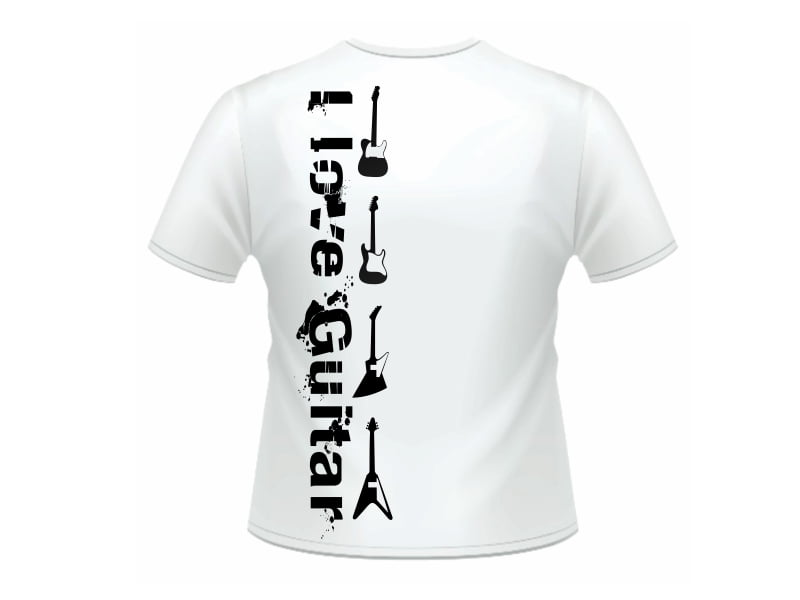 Camiseta I Love Guitar