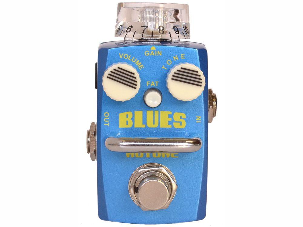 Pedal Overdrive p/ Guitarra Hotone Blues SOD-2