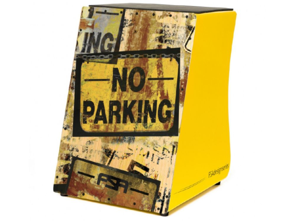 Cajon Eletro Acústico FSA Design Series No Parking FC-6617