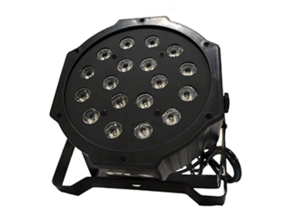 Par LED PLS Octopus c/ 18 Leds 1W RGB