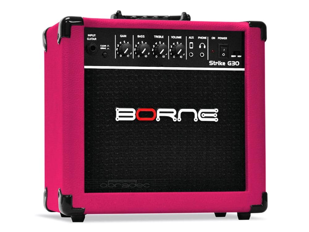 Amplificador para Guitarra 15 W RMS Borne Strike G30