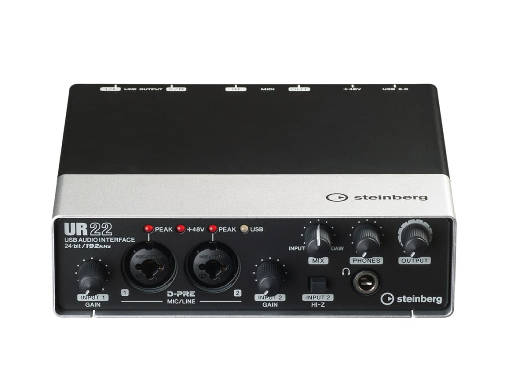 Interface de áudio USB Steinberg UR-22 MKII