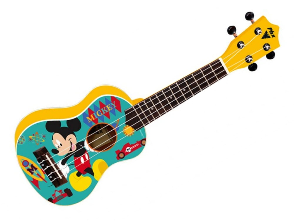 Ukulele Soprano PHX Disney Mickey Yellow UKP-MK1