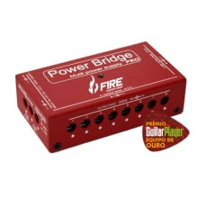 Fonte 9v, 12v e 18v para 13 pedais Fire Power Bridge PRO