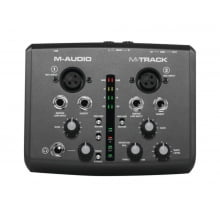 Interface de Audio e MIDI 2 canais USB M-Audio M-Track
