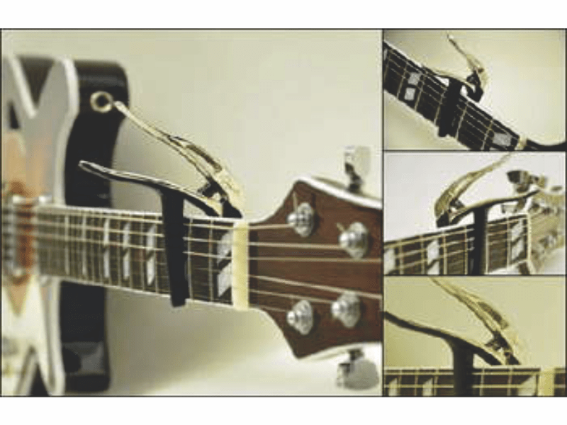 Capotraste N. Zaganin para Guitarra e Violão Aço CT-1