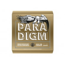 Encoradoamento para Violão .011 Ernie Ball PARADIGM Bronze Light Ref. 2088