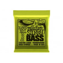 Encordoamento para Baixo 4 cordas 0.50 Ernie Ball Regular Slinky Bass 2832