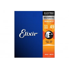 Encordoamento para Guitarra Elixir Nanoweb Medium .011 Ref. 3217