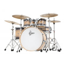 Bateria Gretsch Catalina Ash Black Natural Burst CA1-E825