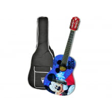 Violão Infantil Phoenix Disney Mickey com Bag VID-MR1