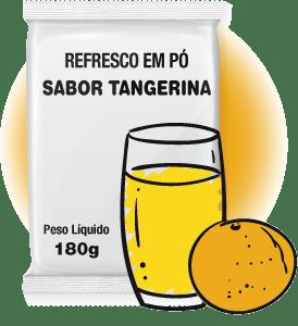 REFRESCO EM PÓ SABOR TANGERINA 180G FMB