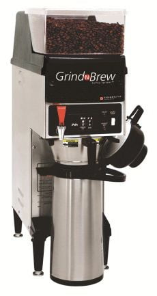 Cafeteira Industrial com Moedor Grindmaster GNB 10 HE