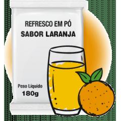 REFRESCO EM PÓ SABOR LARANJA 180G FMB