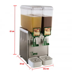 Refresqueira Compact de Pá de 8 Litros A 2.8 - Bras