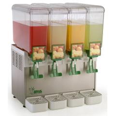 Refresqueira Compact A 4.8 - 4 cubas de 8 L cada - Bras Sulamericana