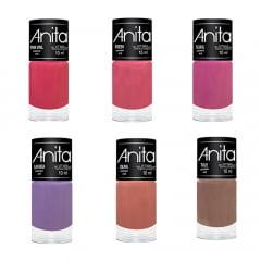 Esmalte Anita Coleção Setembro/2018 com 6 cores