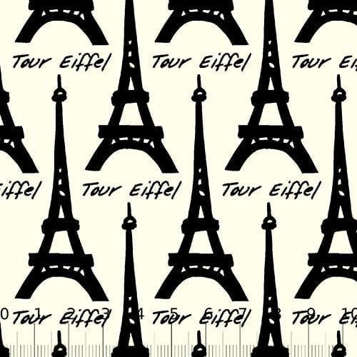 Tricoline Paris Tour - Eiffel Preto