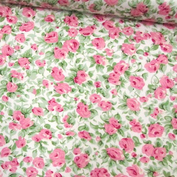 Tricoline Floral Fiori Arte - Rosas