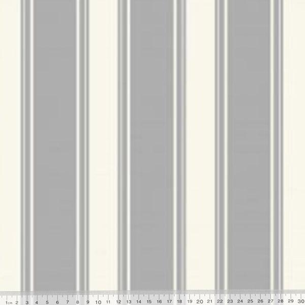 Tecido Impermeável Acquablock® Karsten - Las Tunas Cinza - 72% Algodão 28% Poliéster - Largura 1,40m