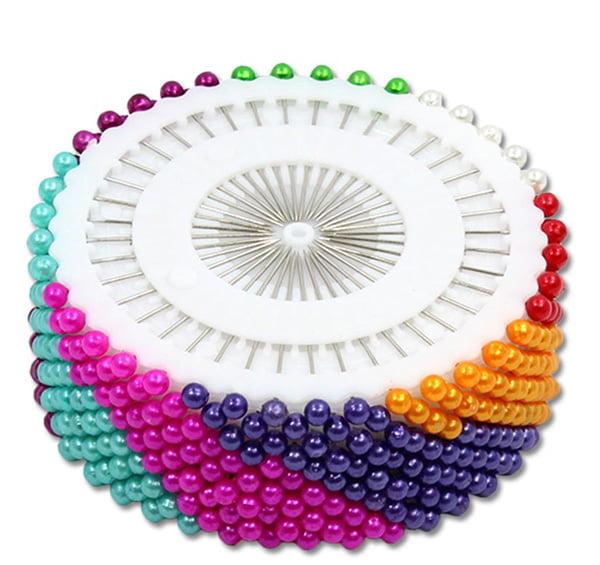 Alfinetes Coloridos disco - 12 unidades