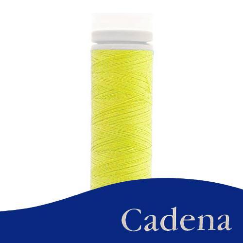 Linha Para Costura Cadena - Amarelo Ouro (COR: 0018) Tubo - 1un.