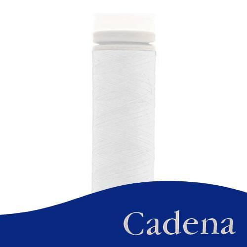 Linha Para Costura Cadena - Branco (COR: 000B) Tubo - 1un.