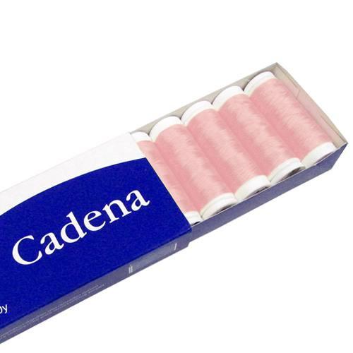 Linha Para Costura Cadena - Rosa (COR: 0155) Caixa c/ 10 Un.