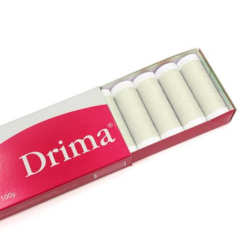 Linha Para Costura Drima - Marfim (COR: 000C) Caixa c/ 10 Un.