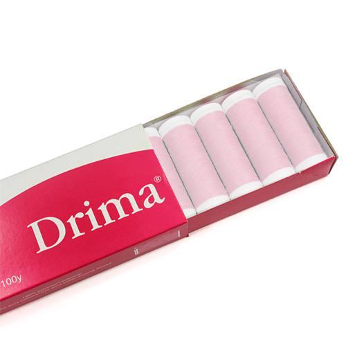 Linha Para Costura Drima - Rosa Claro (COR: 6002) Caixa c/ 10 Un.