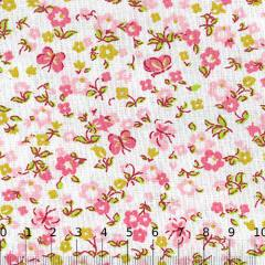 Tricoline Mista Floral Liberty Butterfly - Rosa