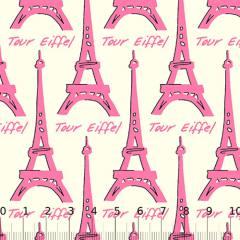 Tricoline Paris Tour - Eiffel Rosa