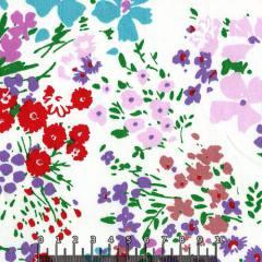 Tecido Tricoline Floral Primavera Verona - Cores