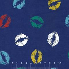 Tricoline Beijos Coloridos