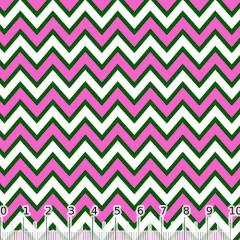 Tricoline Chevron Pan - Rosa Pink (Largura: 1,50 m)