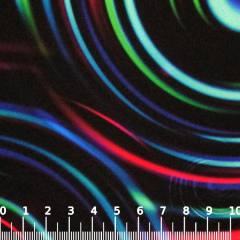 Tecido Gorgurinho Digital - Neon Aspiral - 100% Poliéster - Largura 1,45m