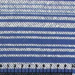 Percal 130 Fios Estampado - Multi Listras - Azul
