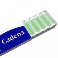Linha Para Costura Cadena - Verde (COR: 0475) Caixa c/ 10 Un.