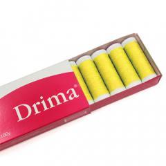 Linha Para Costura Drima - Amarelo (COR: 5700) Caixa c/ 10 Un.