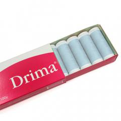 Linha Para Costura Drima - Azul Claro (COR: 0044) Caixa c/ 10 Un.