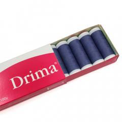 Linha Para Costura Drima - Azul Marinho (COR: 0079) Caixa c/ 10 Un.