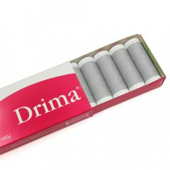 Linha Para Costura Drima - Cinza (COR: 0284) Caixa c/ 10 Un.