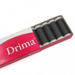 Linha Para Costura Drima - Preto (COR: 000N) Caixa c/ 10 Un.