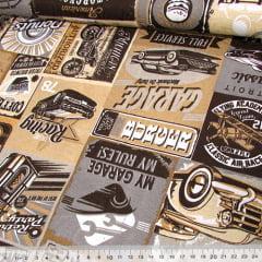 Jacquard Decor - Garagem - Palha